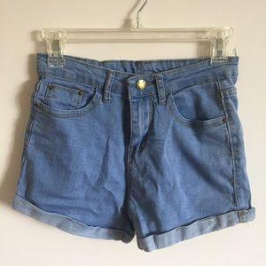 NWT Denim Shorts Cotton